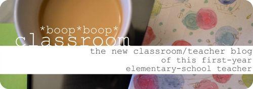 Boop boop classroom header 01