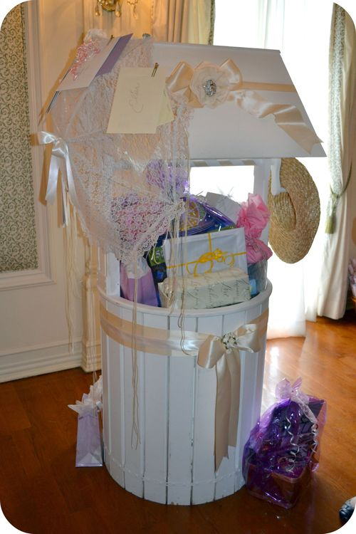 Make Baby Shower Wishing Well http://www.amandasproject26272829.com/clotheslove/page/2/